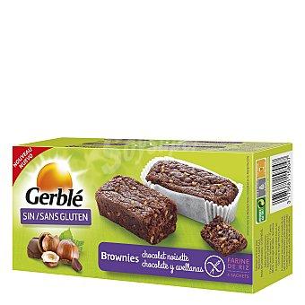 Gerblé Brownie de chocolate y avellana sin gluten 150 g