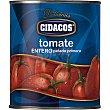 Tomate entero Lata 480 g Cidacos