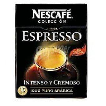 Nescafé Café solubre Espresso Caja 15 sobres