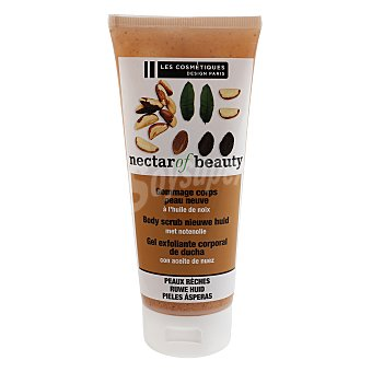 Les Cosmétiques Exfoliante corporal piel nueva con aceite de nuez - Nectar of Beauty 200 ml