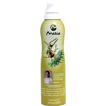 Maeva Aceite de oliva virgen extra con hierbas provenzales Spray 200 ml