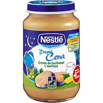 Nestlé Tarrito crema de bechamel y merluza Peque Cena Pack 2 envase 200 g