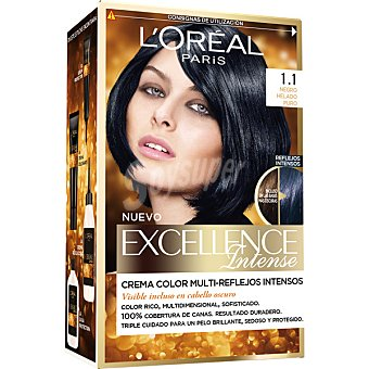 Excellence L'Oréal Paris Tinte intense nº 1.1 Negro Helado 1 unidad