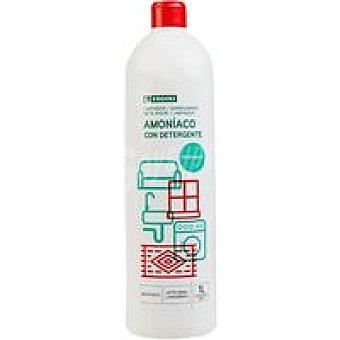 Eroski Amoniáco fuerte con detergente perfumado Botella 1 litro