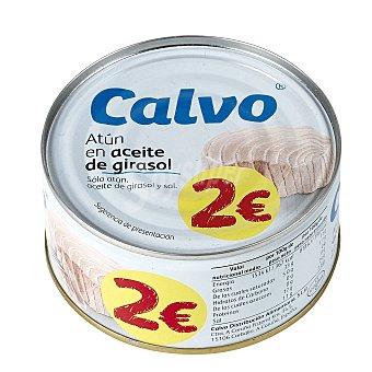 Calvo Atún en aceite de girasol 195 g
