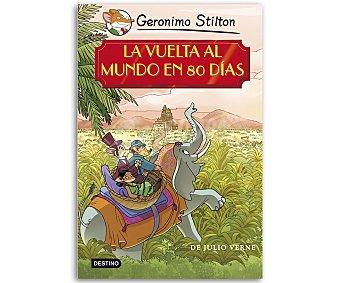 INFANTIL JUVENIL Grandes historias de Geronimo Stilton: La vuelta al mundo en 80 días, vv.aa. Género: infantil, juvenil, aventuras. Editorial: Destino. Descuento ya incluido en pvp. PVP anterior: