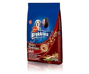 Brekkies Affinity Comida para perros Dog Tender & Delicious con carne fresca Excel 7,5 kg