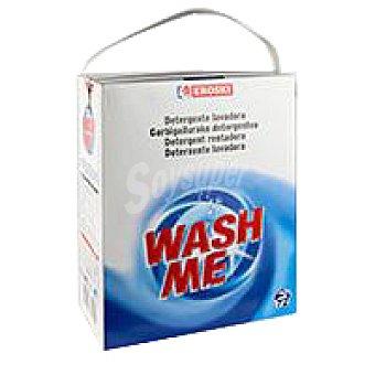 Eroski Detergente en polvo Wash me Maleta 72 cacitos