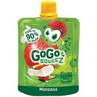 Gogo Squeez Fruta triturada de manzana Bolsa 90 g