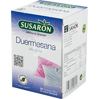 Susaron Duermesana (tila alpina) Envase 20 bolsitas