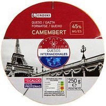 Eroski Queso Camembert Caja 250 g
