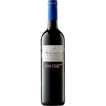 Piedemonte Vino tinto crianza cabernet sauvignon D.O. Navarra botella 75 cl 75 cl