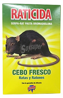 Bloom Raticida (cebo fresco) Caja 200 g