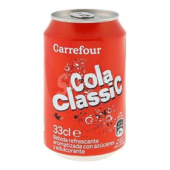 Carrefour Refresco de cola clásico 33 cl