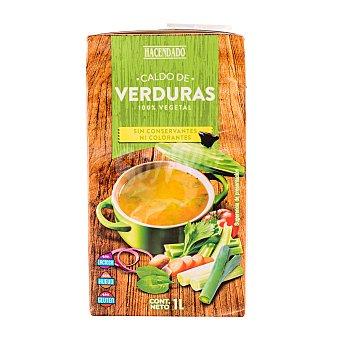 Hacendado Caldo liquido verduras Brick 1 l