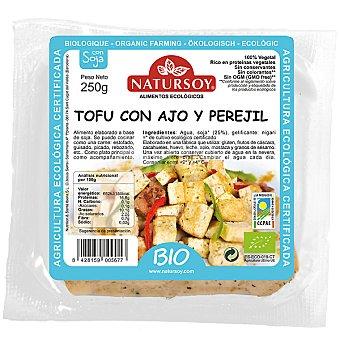 Natursoy bio tofu con ajo y perejil Envase 250 g