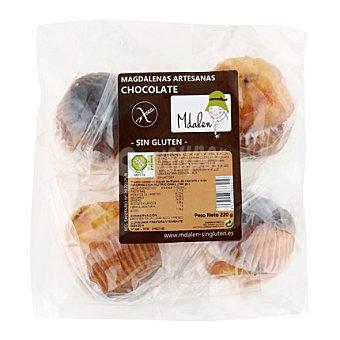 Mdalen Magdalenas de chocolate sin gluten 220 g