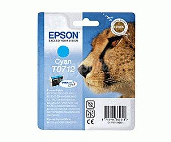 Epson Cartucho T0712 Cian 1 Unidad