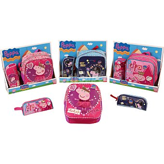 PANDORA Pack Mochila + portatodo Peppa Pig modelos surtidos