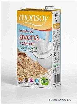 MONTSOY Bebida de Avena con Calcio Brik 1 litro