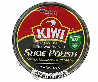 Kiwi Crema color marrón oscuro Lata 50 ml