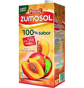 Zumosol Néctar de nelocotón-manzana Brik 1 litro