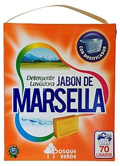Bosque Verde Detergente lavadora polvo marsella Paquete 5250 g