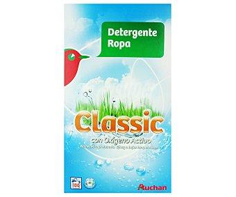 Auchan Detergente en polvo para lavadora con oxígeno activo 100 lavados