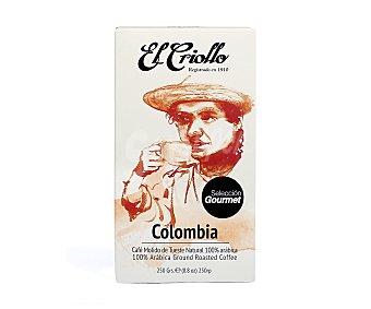 El criollo Café molido Colombia 250 g