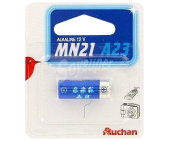 Auchan Pila alcalina MN21 A23 1 unidad
