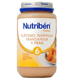 Nutribén Potito Plátano, Naranja, Mandarina y Pera 250 g