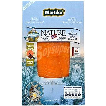 MARTIKO Nature Salmón noruego sin ahumar Envase 80 g