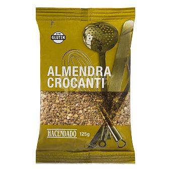 Hacendado Almendra crocanti cubitos Paquete de 125 g