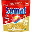 Lavavajilla máquina Oro Bolsa 21 dosis Somat
