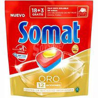 Somat Lavavajilla máquina Bolsa 21 dosis