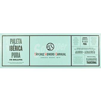 Sánchez Romero Carvajal Lote Paleta Ibérica bellota y delantal