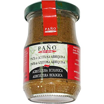 Paño Naturae Paté de aceitunas arbequina ecológico Frasco 140 g