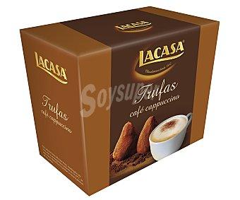 Lacasa Trufas de cacao y aroma café capuccino 200 gramos