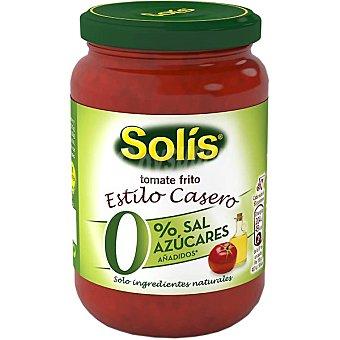 Solís Tomate frito casero 0% sal, azúcares añadidos Frasco 350 g neto escurrido