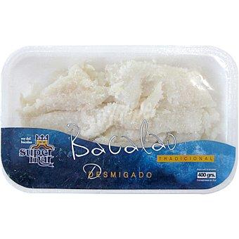 Supermar Bacalao desmigado Bandeja 400 g