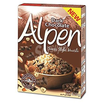 Alpen Cereal-muesli de chocolate Caja 625 g