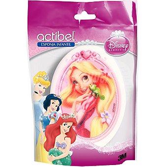 Actibel Esponja princesas Disney Bolsa 1 unidad