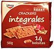 Cracker pan integral (paquete rojo) 14 BOLSITAS (500 g) GALBUSERA