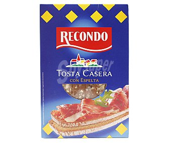 Recondo Tosta casera con espelta 250 gr