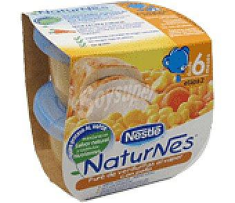 Naturnés Nestlé Pot. verd/pollo 2X 200 GRS