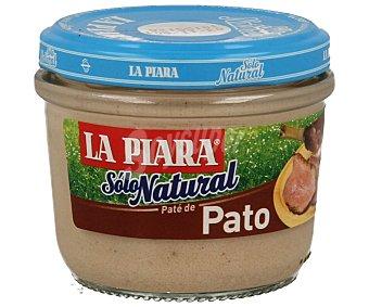 La Piara Paté de pato sólo natural Tarro 100 g