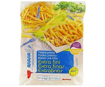 Auchan Patata extrafina 6 mm Bolsa de 1 kilogramo