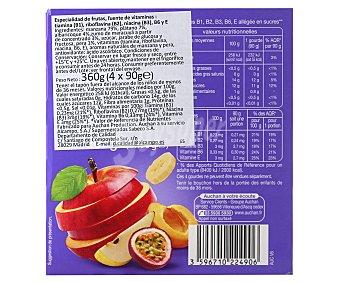 Rik Puré de frutas, 360gr