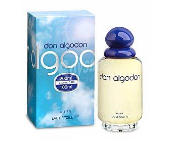 Don Algodón Colonia para mujer Frasco 100 ml