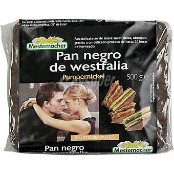 Mestemacher pan negro de Westfalia Pumpernickel Paquete 500 g